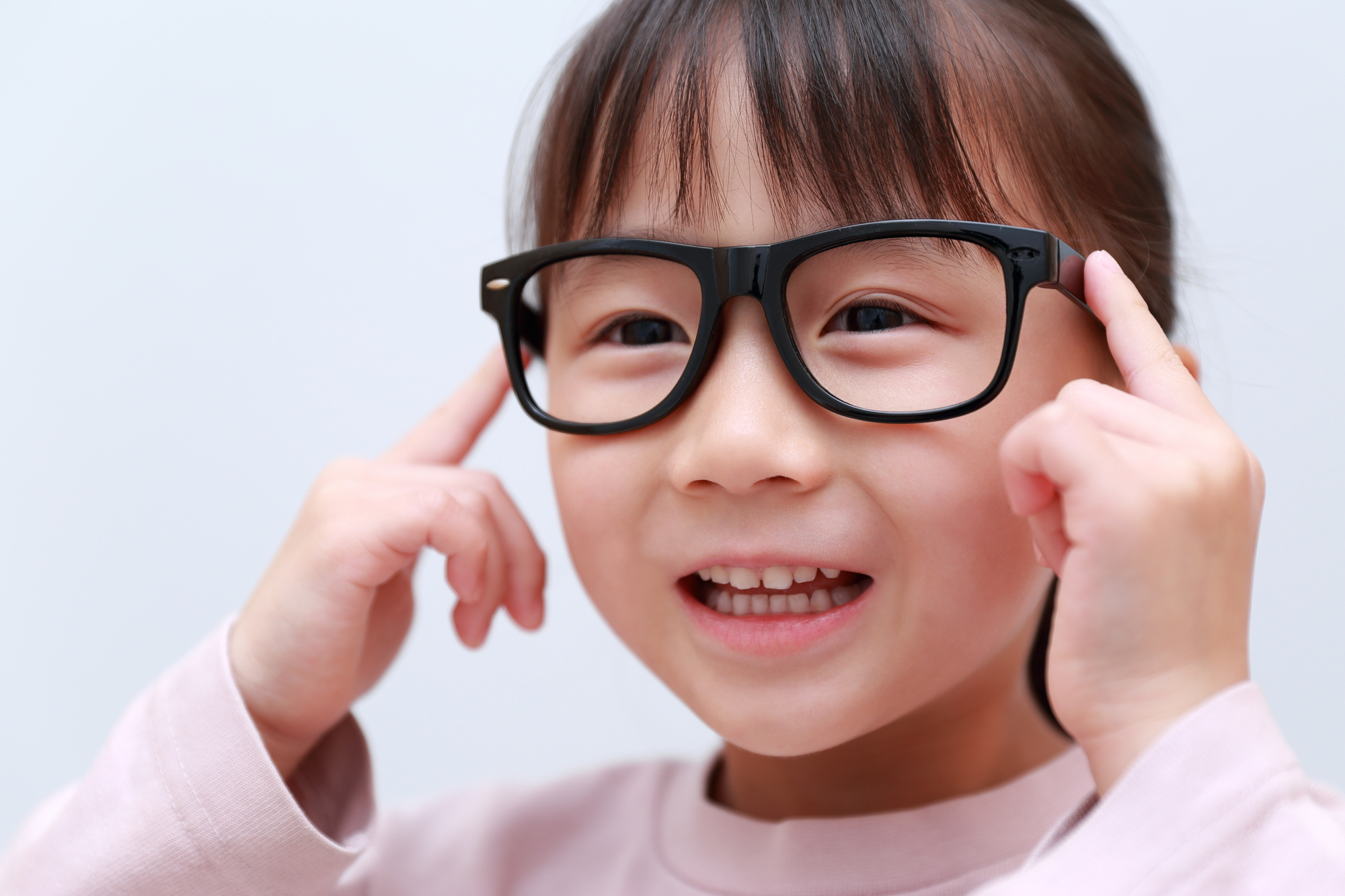 お子さまのメガネの利用方法について